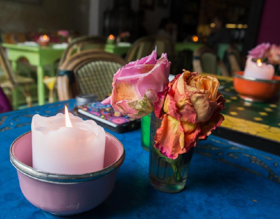 Cafe 'The a la menthe' in Kopenhagen