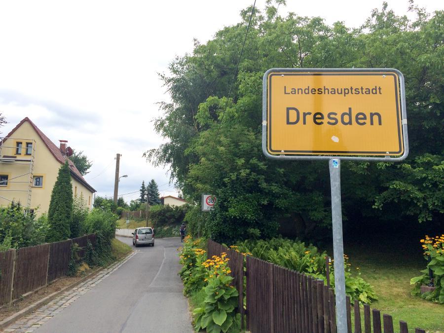Dresden, Ziel erreicht!