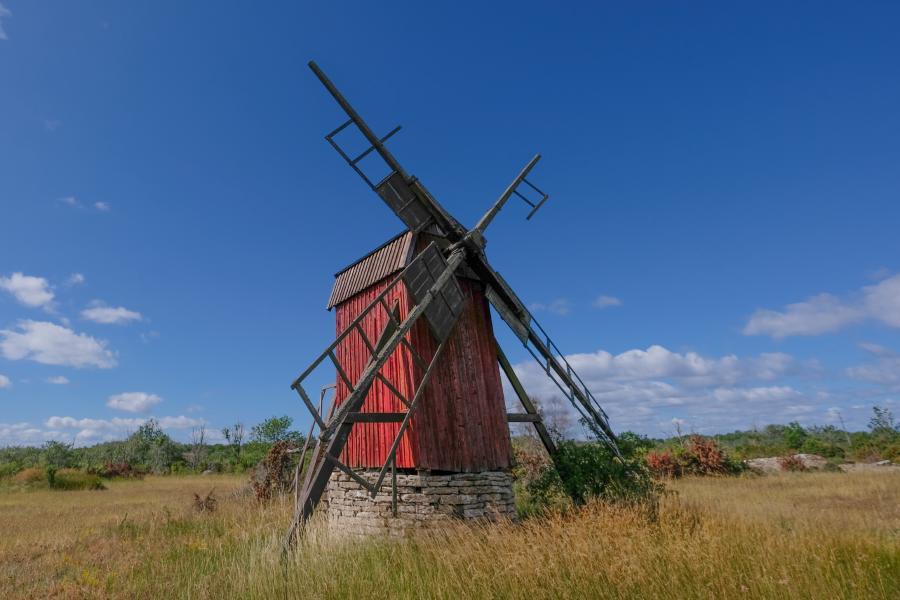 Öland Bockwindmühle