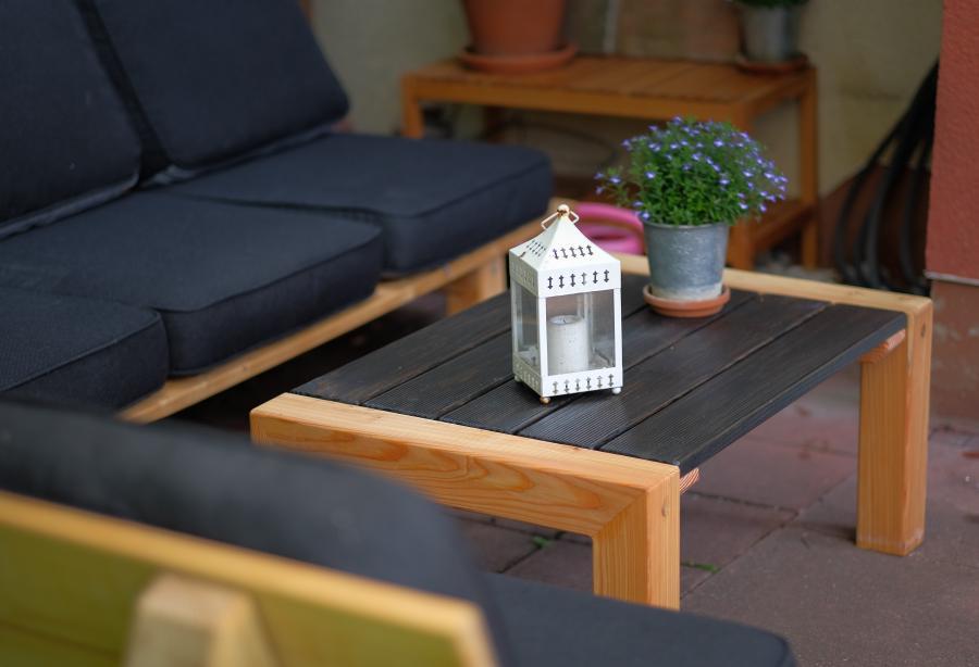 DIY Gartentisch