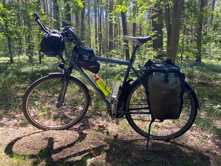 Mein Stevens Trekkingrad