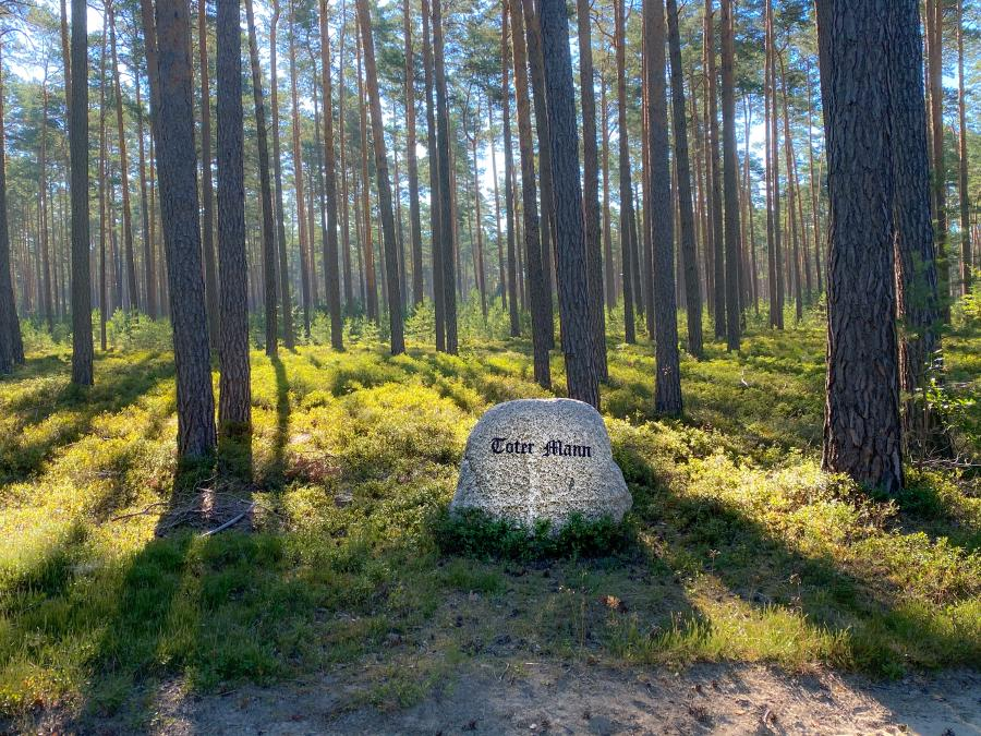 Gedenkstein Toter Mann