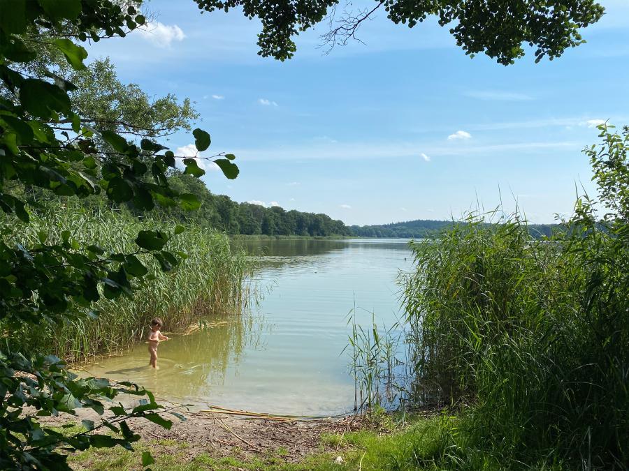 Badestelle Kleßner See