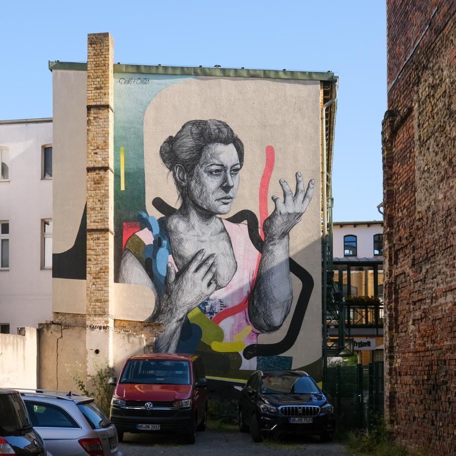 Lutherstadt Wittenberg - Wandgemälde