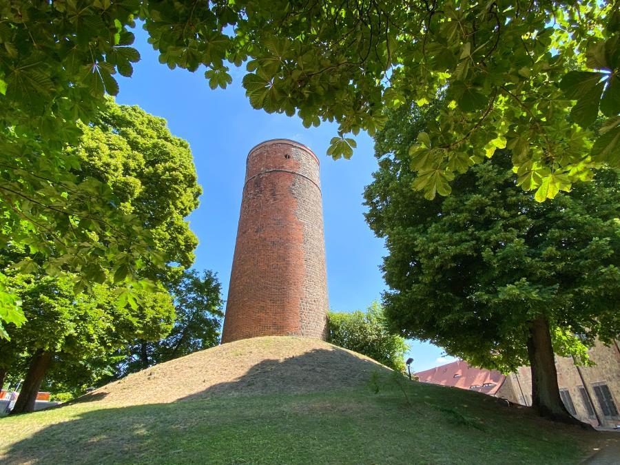 Burg Eisenhardt in Belzig, Burgturm