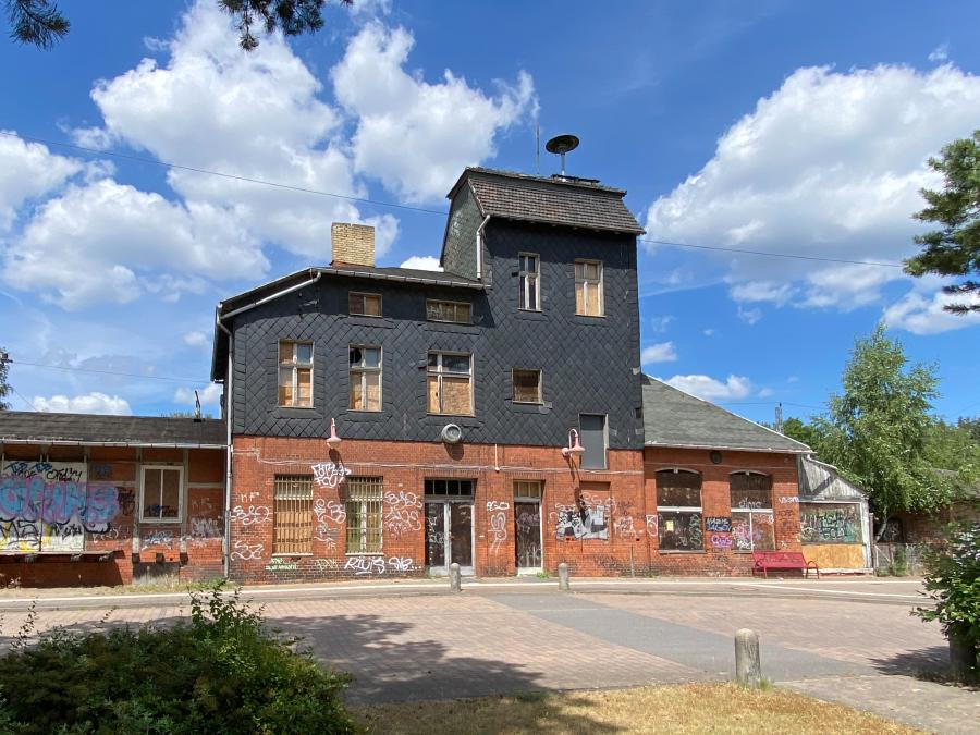 Ehemaliger Bahnhof Borkheide