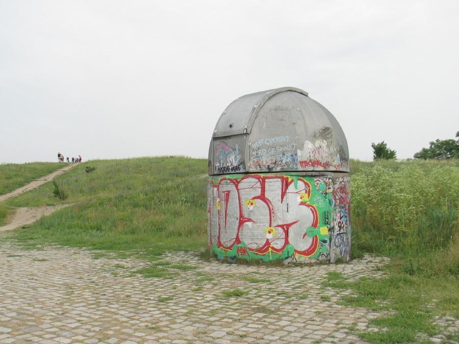 Jpeg Foto 1: Kleine Sternwarte auf dem Hahneberg