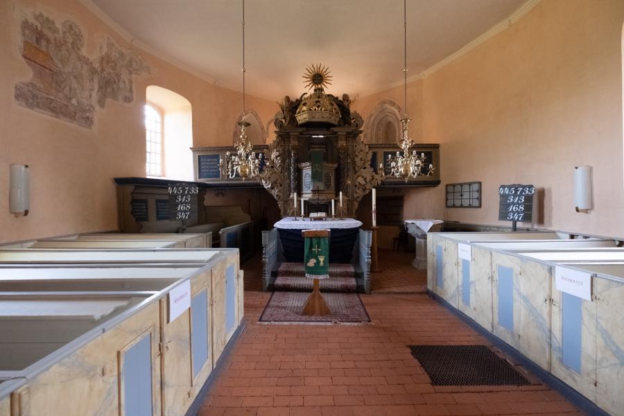 Altar der Kirche Bötzow