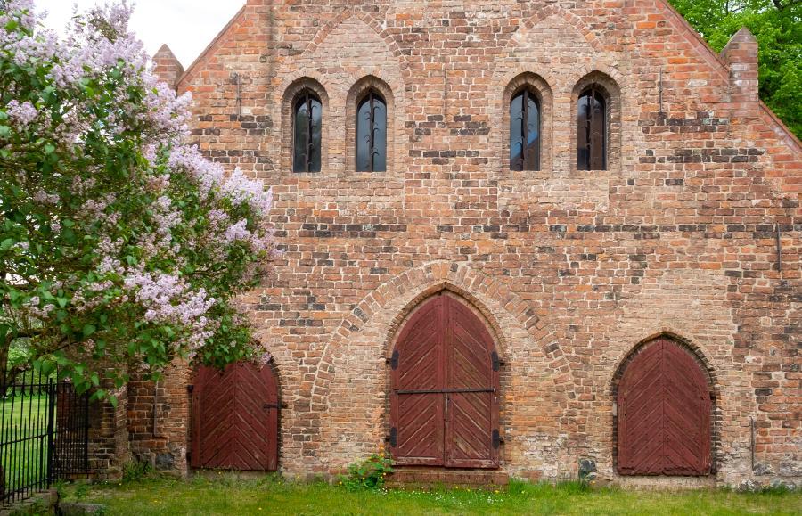 Kornhaus/Getreidespeicher im Kloster Lehnin