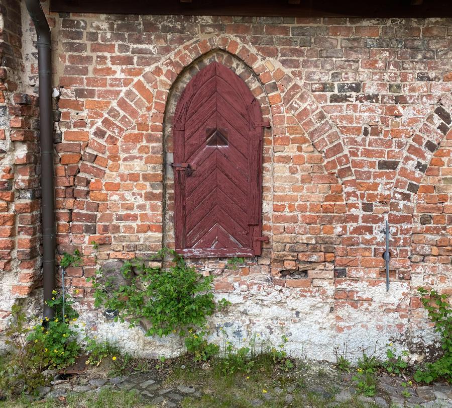 Detail am Kornhaus im Kloster Lehnin