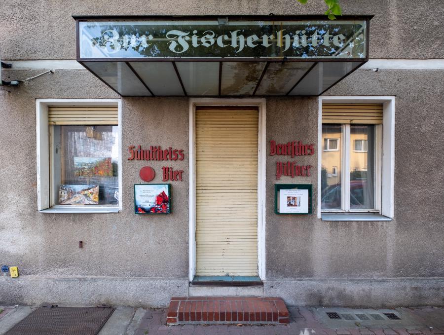 Ehemalige Gaststätte 'Zur Fischerhütte', Tiefwerder Wiesen, Spandau